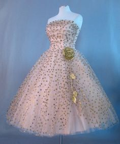 Gallery For > Vintage 50s Dress