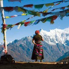 """Every mountain top is within reach if you just keep climbing. Dalai Lama, Nepal, Le Tibet, Ladakh India, Himalaya, Asia, Prayer Flags, Tibetan Buddhism, Human Art"