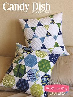 Candy Dish Pillow Pattern Jaybird Quilts #JBQ-125