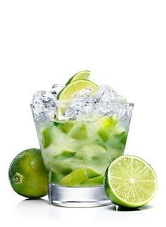 **ABSOLUT Caipiroska** Ingredients 1 Part ABSOLUT CITRON 4 Wedges Lime 2 Teaspoons Sugar, Superfine How to mix this cocktail -- Muddle lime and sugar, superfine in a chilled rocks glass. Add ABSOLUT Citron. Stir. Fill with crushed ice.