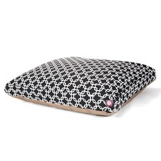 Black Links Extra Large Rectangle Indoor Outdoor cat Dog Bed With Removable Washable Cover By Majestic cat Products ** Trust me, this is great! Click the image. : Cat Beds and Furniture