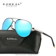 EZREAL Fashion Outdoor Sports Men Polarized Sunglasses Women Brand Designer with High Quality 5 Colors Free Shipping 8503