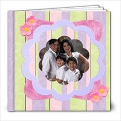 fun cupcakes 8x8 album by Ivelyn - Photo Book Insert your own photos.