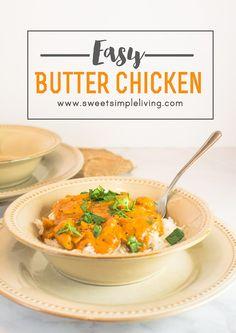 Easy Butter Chicken