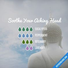 Soothe Your Aching Head - Essential Oil Diffuser Blend