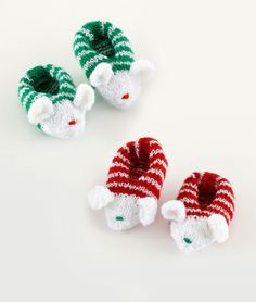 Holiday Mousie Slippers