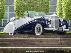 Rolls-Royce Motor Cars announces a new Dawn for super-luxury motoring - Classic car list Old Rolls Royce, Rolls Royce Dawn, Project Cars For Sale, Rolls Royce Motor Cars, Wedding Car Hire, Pinewood Derby Cars, Disney Cars Birthday, Suv Cars, Car Videos