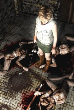 """""""I SAID no more urine samples. Listen next time, bitches."""" Good old Silent Hill 3."""