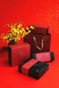 2016 New Year Packaging on Behance year gift design 2016 New Year Packaging Brand Packaging, Packaging Design, New Year Packages, Chinese New Year Cookies, Chinese New Year Design, Chinese Paper Cutting, Gift Box Design, Tea Design, New Year Gifts