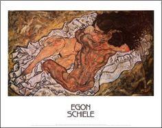 Egon Schiele - Etreinte