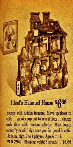 ideals haunted house