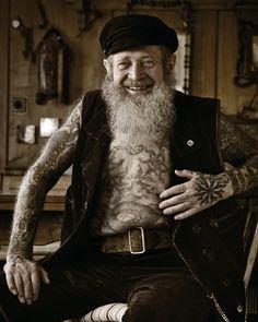 Tattoo artist Herbert Hoffman  (1919 –  2010)  was the oldest active tattoo artist in the world.
