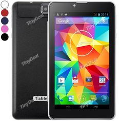 Laude Android Phablet w/ Case Android 4, Dual Sim, Bluetooth, Core