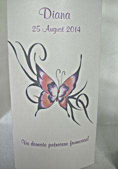 Meniu de botez fluturas - Invitatii Creative Lotus Flower, Tattoos, Flowers, Tatuajes, Tattoo, Floral, Royal Icing Flowers, Lotus Flowers, Cuff Tattoo