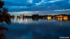 On the silky water surface of the lake in Herastrau park in Bucharest, are reflected the lights of modern high-rising office buildings and restaurants. Get 10 free images by registering 1 month free trial. #adobestock #Romania #landscape #cityscape #bluehour #park #still #urban #landscapephotography #peacefulhunter #KingMihaiI #cloudscape Beautiful Landscape Images, Landscape Pictures, Different Seasons, Seasons Of The Year, Office Buildings, Blue Hour, Bucharest, 1 Month, Park City