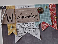 cute for smashbooking :)  use up scraps and save money by creating our own embellishments