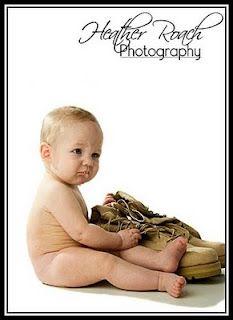 Toddler-Military Photo Idea