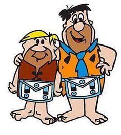 Brothers Fred and Barney From Bedrock Lodge #001