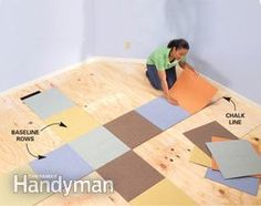 How to Lay Carpet Squares - Step by Step | The Family Handyman