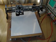 CNC Hack – How to Make a CNC Machine from Printer Parts!