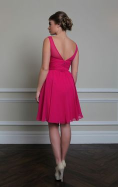 LUCINDA dress has a cut suitable both for women and girls. Might be a good choice if your bridesmaids are very young :) https://www.wed2b.co.uk/bridesmaids/bridesmaids-dresses-lucinda.php