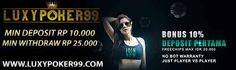Mencari Agen Judi Poker Online Terbaik Deposit 10 rb tentu saja cukup mudah, di internet semua hal sudah disediakan cukup dengan Anda mengetikkan kata kunci