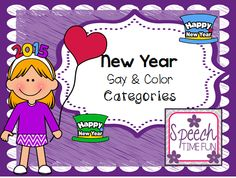 Speech Time Fun: Happy New Year! (my thoughts, some FUN, plus a freebie!)