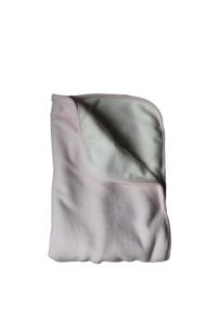Sammetsfilt soft pink | Littleheart - ekologiska bäddset och filtar för baby