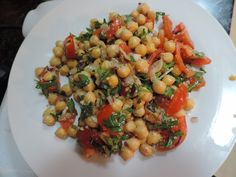 Black Eyed Peas, Bruschetta, Vegetables, Ethnic Recipes, Food, Fitness, Diet, Bulgur, Essen