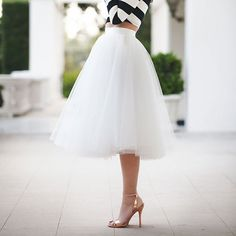 Wendy Tulle Skirt - $92 /// rehearsal dinner possibility