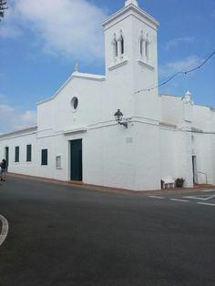 Minorca ...little church Es fornells