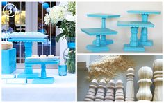 Wedding+Cake+Pop+Stand+DIY | DIY Wedding Cake Stands by Bee in our Bonnet [CLICK!]