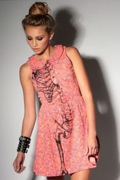 wishbone dress Iron Fist <3 IF only it was shorter...short girls have to wear short dresses for them to look normal :/
