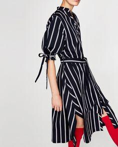 Zara y los vestidos camiseros de rayas- 39'95 EUR