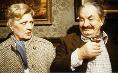 Horace Rumpole, played by Leo McKern, and Hilda Rumpole ('she who must be obeyed'), played by Marion Mathie  (Series 4 - 7) in 'Rumpole of the Bailey'