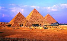 Piramides de Gizé e Esfinge - Egito
