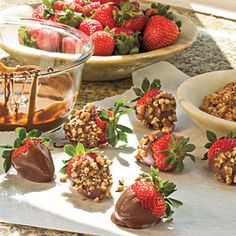 Wickedly Delicious Chocolate Desserts Chocolate-Dipped Strawberries ~