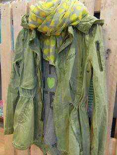 One Green Elephant + The Hip Tee + Indi & cold Bilbao, Military Jacket, Tees, Shirts, Elephant, My Style, Jackets, Cold, Heart