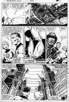 Fantastic Four #234, page 14 by John Byrne. 1981.