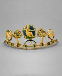"HENRY WILSON, ENGLISH, 1864-1934  ""DIANA"" DIADEM, C. 1908"