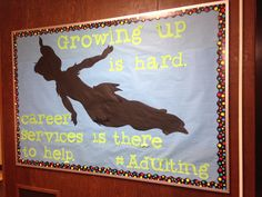 Career services board by Amanda Kolb and Scout Beckenbach @Housing and Residence Life at University of MN Duluth