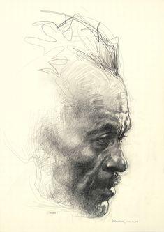 Chuck Berry by Sebastian Kruger