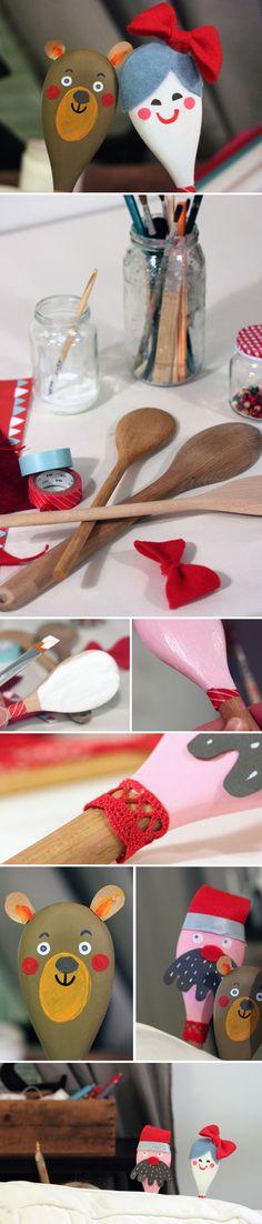 Puurokauhateatteri. lasten | askartelu | joulu | käsityöt | koti | leikki | DIY ideas | kid crafts | christmas | home | Pikku Kakkonen