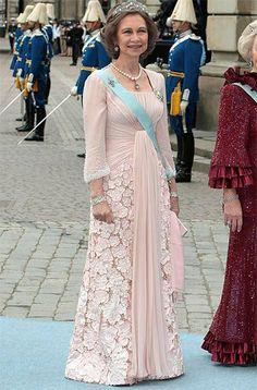 Dª Sofía en Suecia