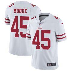 995c11c99 Nike 49ers  45 Tarvarius Moore White Men s Stitched NFL Vapor Untouchable  Limited Jersey. Lillianjerseys · San Francisco 49ers Jerseys