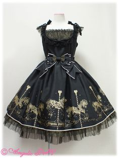 Angelic Pretty / Jumper Skirt / Twinkle Carnival Switching JSK