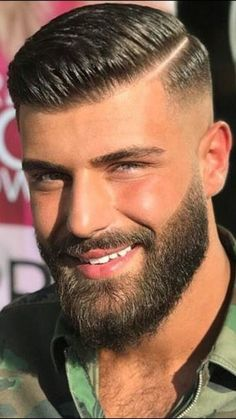View the best mens hairstyles from Charlemagne Premium male. View the best mens hairstyles from Charlemagne Premium male grooming and beard styling. Hairstyles Haircuts, Haircuts For Men, Beard And Hairstyles, Short Hairstyles For Men, Pompadour Hairstyle For Men, Undercut Pompadour, Simple Hairstyles, Modern Haircuts, School Hairstyles