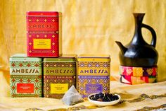 Chef Marcus Samuelsson's new line of specialty teas make for a great hostess gift.