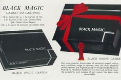 Black Magic advert from Christmas 1937