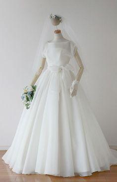 ローブ・ドゥ・マリエ セツコアオキ No.24-0056 ウエディングドレス 結婚式